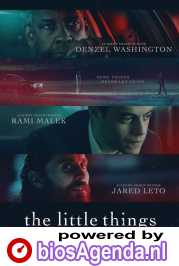 The Little Things poster, © 2021 Warner Bros.