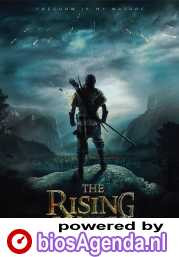 The Rising Hawk poster, copyright in handen van productiestudio en/of distributeur