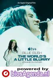 Billie Eilish: The World's a Little Blurry poster, copyright in handen van productiestudio en/of distributeur