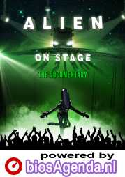 Alien on Stage poster, copyright in handen van productiestudio en/of distributeur
