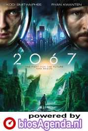 2067 poster, copyright in handen van productiestudio en/of distributeur