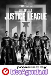 Zack Snyder's Justice League poster, copyright in handen van productiestudio en/of distributeur