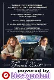 French Exit poster, copyright in handen van productiestudio en/of distributeur