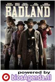 Badland poster, copyright in handen van productiestudio en/of distributeur