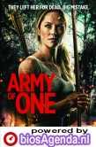 Army of One poster, copyright in handen van productiestudio en/of distributeur