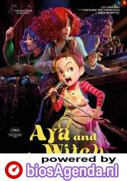 Aya and the Witch poster, © 2020 Paradiso