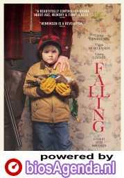 Falling poster, copyright in handen van productiestudio en/of distributeur