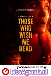 Those Who Wish Me Dead poster, © 2021 Warner Bros.
