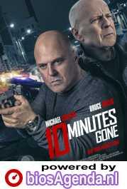 10 Minutes Gone poster, copyright in handen van productiestudio en/of distributeur