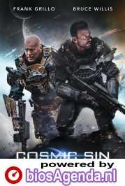 Cosmic Sin poster, copyright in handen van productiestudio en/of distributeur