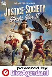 Justice Society: World War II poster, copyright in handen van productiestudio en/of distributeur