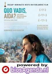 Quo vadis, Aida? poster, © 2020 Cinéart