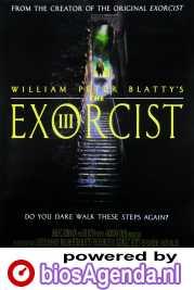 The Exorcist III poster, copyright in handen van productiestudio en/of distributeur