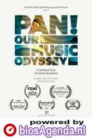 PAN! Our Music Odyssey poster, copyright in handen van productiestudio en/of distributeur