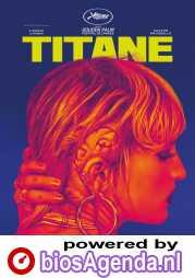 Titane poster, © 2021 O'Brother (via Gusto Entertainment)