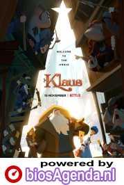Klaus poster, copyright in handen van productiestudio en/of distributeur
