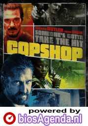 Copshop poster, © 2021 The Searchers