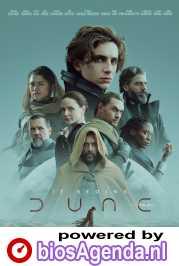 Dune poster, copyright in handen van productiestudio en/of distributeur