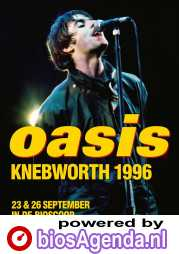 Oasis Knebworth 1996 poster, © 2021 Piece of Magic