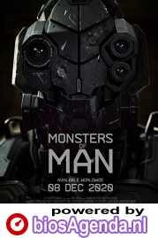 Monsters of Man poster, copyright in handen van productiestudio en/of distributeur