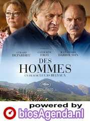 Des Hommes poster, copyright in handen van productiestudio en/of distributeur