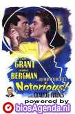 poster 'Notorious' © 1946 RKO Radio Pictures Inc.
