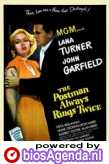 poster 'The Postman Always Rings Twice' © 1946 Metro-Goldwyn-Mayer (MGM)