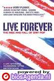 poster 'Live Forever' © 2003 Three Lines