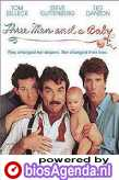 poster 'Three Men and a Baby' © 1987 Touchstone Pictures