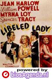 popster 'Libeled Lady' © 1936 Metro-Goldwyn-Mayer (MGM)