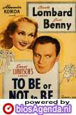 poster 'To Be or Not to Be' © 1942 Romaine Film Corporation