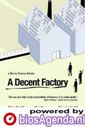 Poster A Decent Factory