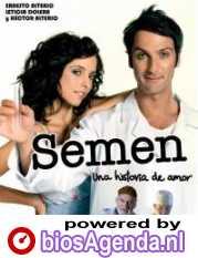 Poster Semen: Una Historia de Amor