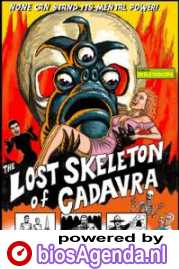 Poster The Lost Skeleton of Cadavra