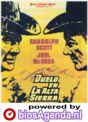 Spaanse poster Duelo en la Alta Sierra