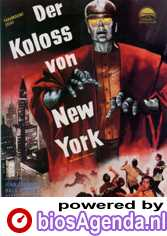 Duitse Poster The Colossus of New York