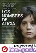 Poster Los Nombres de Alicia