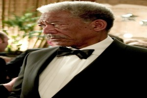 Morgan Freeman in Batman Begins