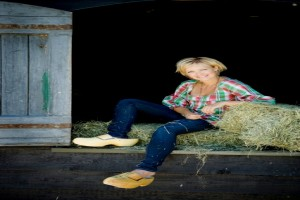 Yvon Jaspers in promotiefoto 'Boer zoekt vrouw'